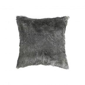 Cushion DOLLY GREY fur...