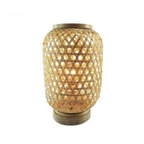 RAMY Lampe en rotin cannage...