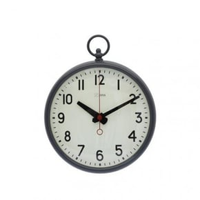 Horloge métal GRIS
