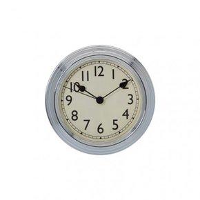 Horloge métal TRANSPARENT