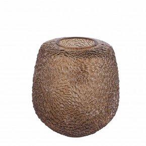 Vase JULIA amber H21