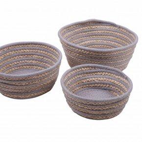 MALANG set of 3 baskets