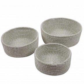 LOU set of 3 baskets - Green