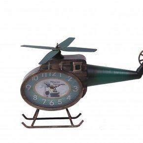 Horloge en forme d'hélicoptère