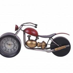 Horloge en forme de moto