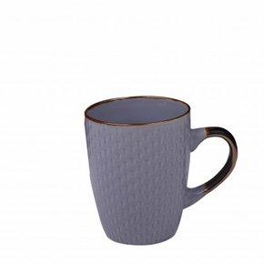 Mug en céramique violet à...