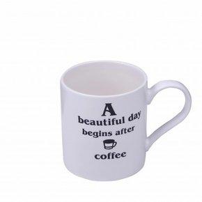 Mug en céramique blanc avec...