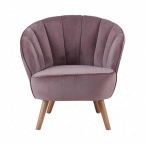 JASPER fluwelen fauteuil...