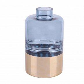 Vase AKUNE en verre H21 cm