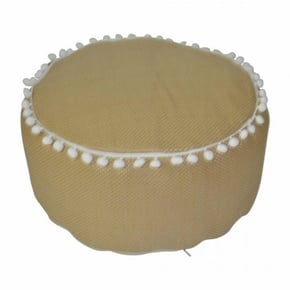 Pouf in jute effect with...