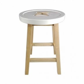 NOEUD Stool wooden feet -...