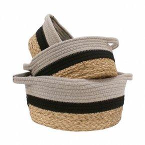 BUCOLIQUE set of 3 baskets