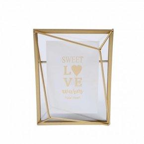Gouden metalen frame...