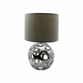 ZIVA silver Lampe en céramique