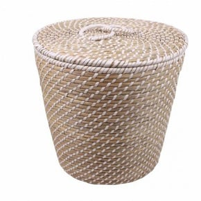 MAYA set of 3 baskets - Grey