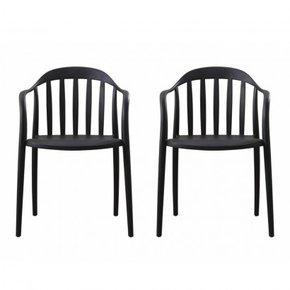 Lot de 2 chaises empilable...