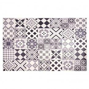 Cement tile pattern vinyl...