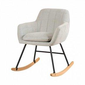 Gestoffeerde schommelstoel...