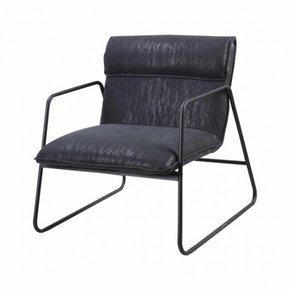 Industrial armchair - Black...