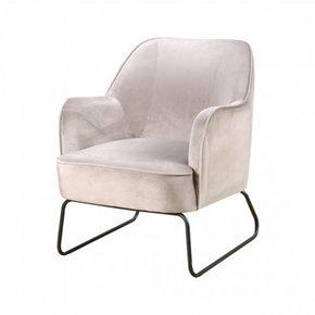 Trendy Armchair - Beige - Teo