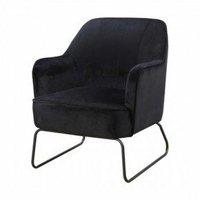 Trendy Armchair - Teo - Black