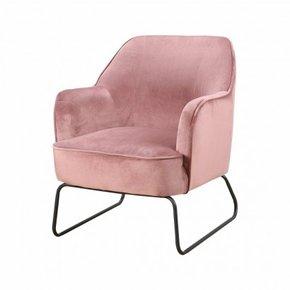 Trendy Armchair - Pink - Teo