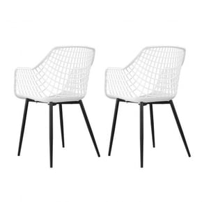 Set of 2 Chairs with...