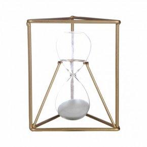 Golden Metal hourglass