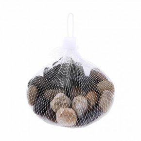 Galet decoratif en mini sac...