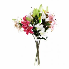 Synthetic bouquet 3 heads
