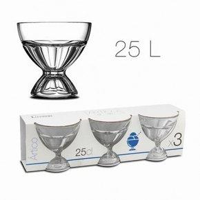 Artico glance cup x3 25 cl