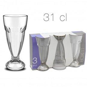 Milkshakeglas x3 31 cl