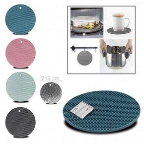 Dess. de plat silicone rond