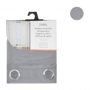 Voilage uni 240x135 cm - Grey
