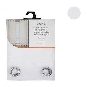 Voilage uni 240x135 cm - White