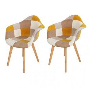 lot de 2 ORAZ chaises...