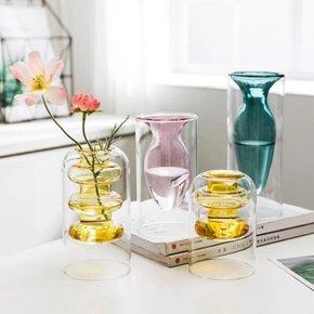 Vase SALOME green H20