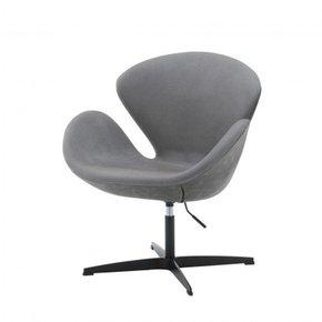 ERIK swivel armchair in PU...