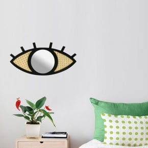 Black Eye Design Mirror
