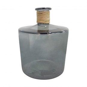 IVO glass vase 26 cm - Grey