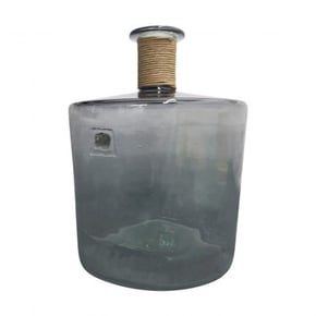 IVO glass vase 45 cm - Grey