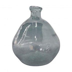 Glass VAATA Vase 50 cm - Grey