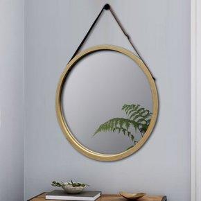 ANJA bamboo mirror D45 cm