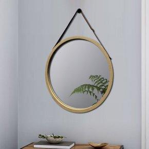 ANJA bamboo mirror D38 cm