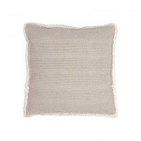 Cushion ZARAH 45x45 cm - Taupe