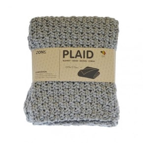 Plaid grosse maille 130x150...