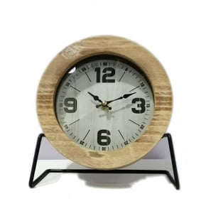 LOWELL table clock H21 cm
