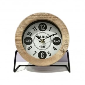 LOWELL table clock H22 cm