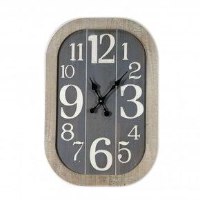 Horloge industrielle en...
