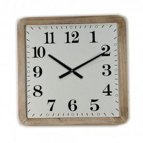 Horloge industrielle carrée...
